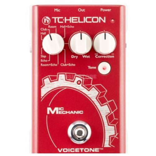 TC-Helicon VoiceTone Mic Mechanic Vocal Effects Pedal